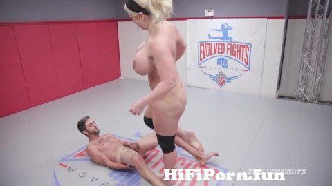 View Full Screen: huge boobs alura jenson kicks balls and dominates in nude wrestling match.jpg