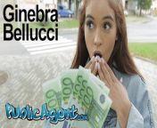 Public Agent Celebrity Look a like Ginebra Bellucci Fucked in POV from picha za watu wanao tombana n