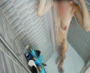Sexy Wife Shaving Pussy In A Hot Steamy Shower from sexy karneka tarika goli