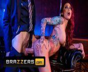 Brazzers - Big tit inked stipper Monique Alexander takes big dick from monique alexander xxx videos
