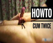 How to make him cum twice? from simrat kaur doing self torture bdsm fetish she delhi girl