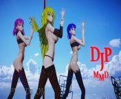 MMDR18 Misaki and Misaka - Sistar - Shake It - Black Stage 01 Fixed 1310 from sistar barothr