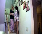 Alysa Gap and Lola Taylor play in bedrom from sampul nurse japan xxx lesbian sex